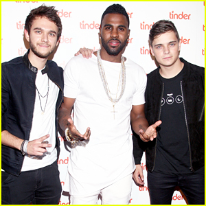 Jason Derulo, Zedd, & Martin Garrix Team Up at Tinder Plus' Launch Party!
