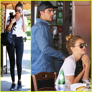 Joe Jonas & Gigi Hadid Meet Up With His Ex Taylor Swift for Lunch!