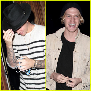 Justin Bieber & Cody Simpson Perform Impromptu Show in West Hollywood (Video)