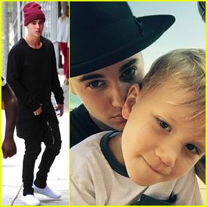Justin Bieber's Little Brother Jaxon Looks Just Like Him - See the Pics!