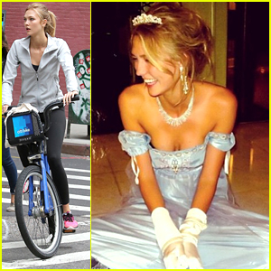 Karlie Kloss Is The Spitting Image Of Cinderella in Moscow!