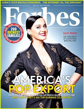 Katy Perry Is the Third Highest-Paid Celebrity in the World!