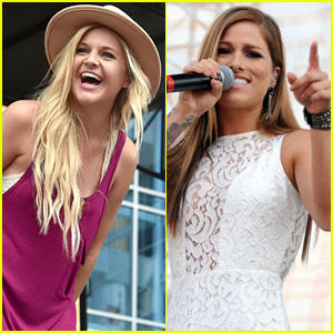 Kelsea Ballerini & Cassadee Pope Wow The Crowds At CMA Fest