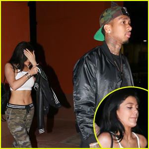 Kylie Jenner Checks Out 'Jurassic World' With Boyfriend Tyga