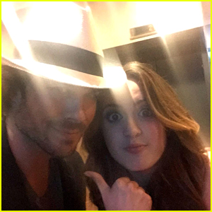 Laura Marano Meets Ian Somerhalder at CMT Music Awards & Freaks Out!