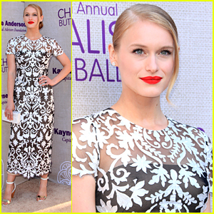 Leven Rambin Stuns At Chysalis Butterfly Ball 2015