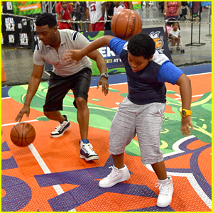 Lil P-Nut & Kel Mitchell Kick Off Worldwide Day Of Play at BET Experience in LA