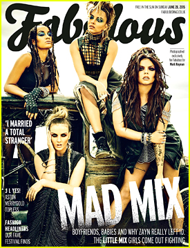 Little Mix Get Grungy & 'Mad Max' Inspired On 'Fabulous' Mag Cover