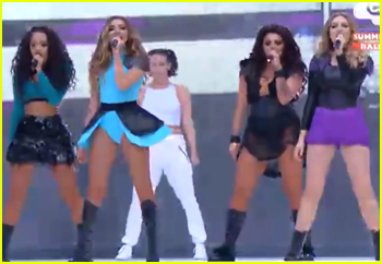 Little Mix Put A Spell on Summertime Ball 2015 With 'Black Magic' - Watch Now!