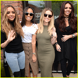 Little Mix Continue Radio Tour in Manchester