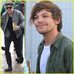 Louis Tomlinson & Niall Horan Hit Glastonbury Music Festival Together