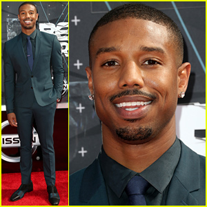 Michael B. Jordan Hits Up the BET Awards 2015!