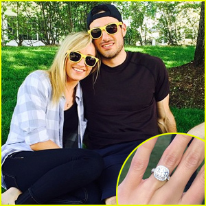 Nastia Liukin Is Engaged to Matt Lombardi - Check Out Her Huge Ring!