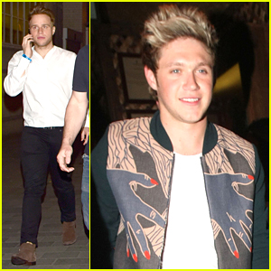Niall Horan & Olly Murs Partied All Night Long In London