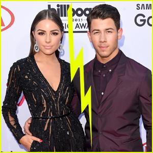Nick Jonas & Olivia Culpo Call it Quits - Report