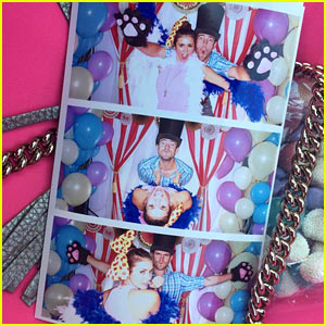 Nina Dobrev Has Photo Booth Fun with Rumored Boyfriend Austin Stowell!