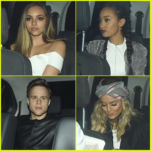 Little Mix & Olly Murs Hit Up Secret 'X Factor' Party In London