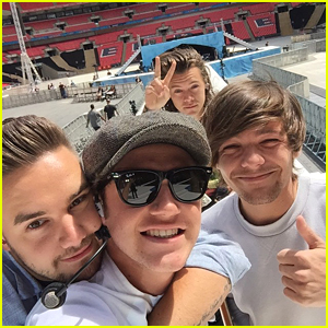 One Direction Hit Up CapitalFM Summertime Ball After Cardiff Concert