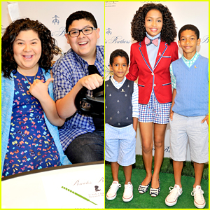 Raini & Rico Rodriguez Join Yara Shahidi At Brooks Brothers St. Jude Mini Golf Classic Tournament
