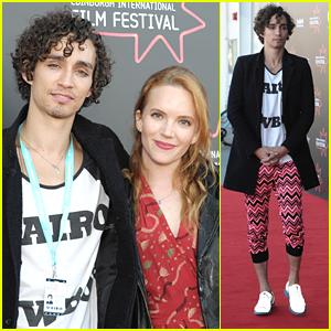 Robert Sheehan Wears Pink ZigZag Pants At Edinburgh Film Festival