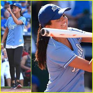 Selena Gomez Plays In Big Slick Celebrity Softball Game In Kansas City