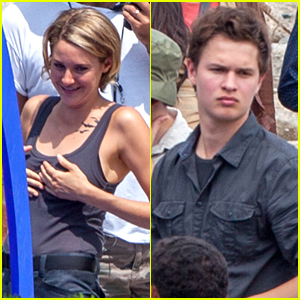 Shailene Woodley & Ansel Elgort Continue Filming 'Allegiant' After Teen Choice Noms