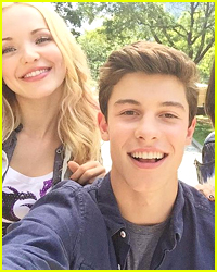 Shawn Mendes, Sofia Carson & Dove Cameron Were Hanging Out -- Where Was Our Invite?