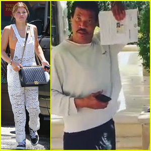 Watch Sofia Richie's Dad Lionel Present Her With a Driver's License!