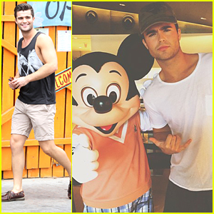 Spencer Boldman Shares Pool Pics From Tropical Getaway on Instagram