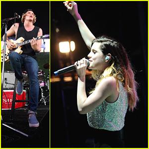 Echosmith's Sydney Sierota Performs With Zedd At Firefly Music Festival