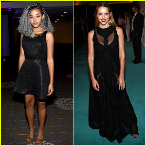 Amandla Stenberg & Teresa Palmer Attend Women in Film to Support Kate Mara!