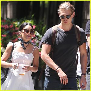 Vanessa Hudgens Reunites With Boyfriend Austin Butler After 'Gigi' Wraps on Broadway