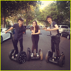 Victoria Justice Teases New Video With Max & Kurt Schneider!