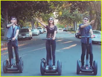 Victoria Justice & Max Schneider Give Us Segway Squad Goals In New Mashup Vid With Kurt Hugo Schneider