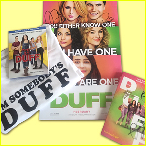 Win a FREE 'The Duff' Prize Pack With A Signed Book!