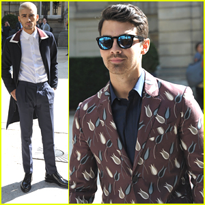 Zayn Malik Hits Valentino Fashion Show with Joe Jonas