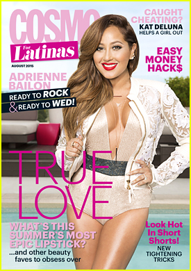 Adrienne Bailon Covers 'Cosmo For Latinas' August 2015 Issue & Talks Finding Her Soulmate In Her Sister