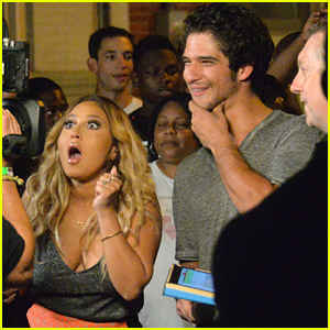 Tyler Posey & Adrienne Bailon Take Over Philadelphia For 'Knock Knock: Live'