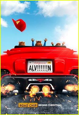 'Alvin & the Chuipmunks: The Road Chip' Gets its First Trailer - Watch Now!