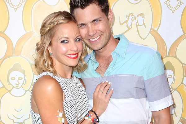 Amy Paffrath Celebrates Birthday With Drew Seeley At ...