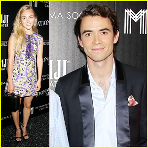 AnnaSophia Robb Supports Jamie Blackley At 'Irrational Man' Premiere in NYC
