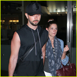 Ashley Greene & Paul Khoury Hold Hands at the Airport!