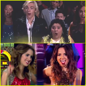 Laura Marano & Becky G Both 'Can't Stop Dancing' In New 'Austin & Ally' Sneak Peek