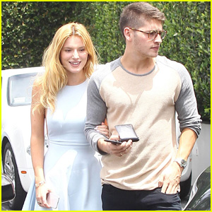 Bella Thorne & Gregg Sulkin Lunch it Up After Just Jared's Summer Bash 2015