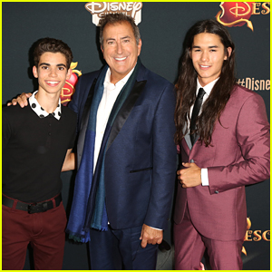 Cameron Boyce & Boo Boo Stewart Are Double The Trouble At 'Descendants' Premiere