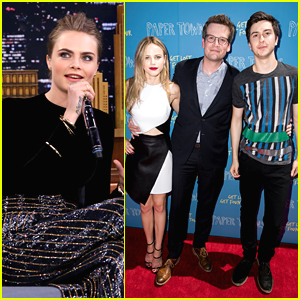 Cara Delevingne Beatboxes On 'Tonight Show' To Make Up For Missing Dallas 'Paper Towns' Tour Stop