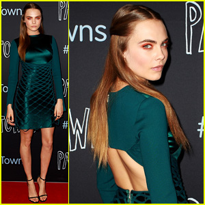 Cara Delevingne Brings 'Paper Towns' to Australia!