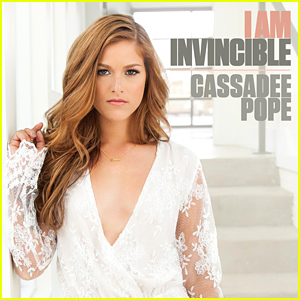 Cassadee Pope Debuts 'I Am Invincible' - Listen NOW!