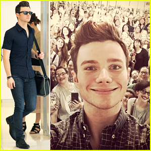 Chris Colfer Goes 'Beyond The Kingdom' In New York City
