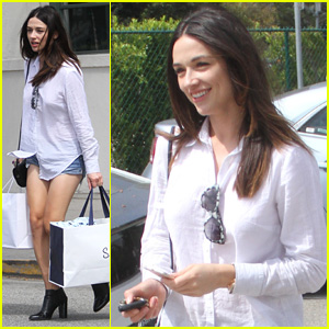 Crystal Reed Steps Out After 'Teen Wolf' Remembers Her Character Allison Argent